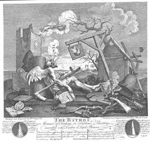 Satirist William Hogarth used art to predict his own death in 1764
